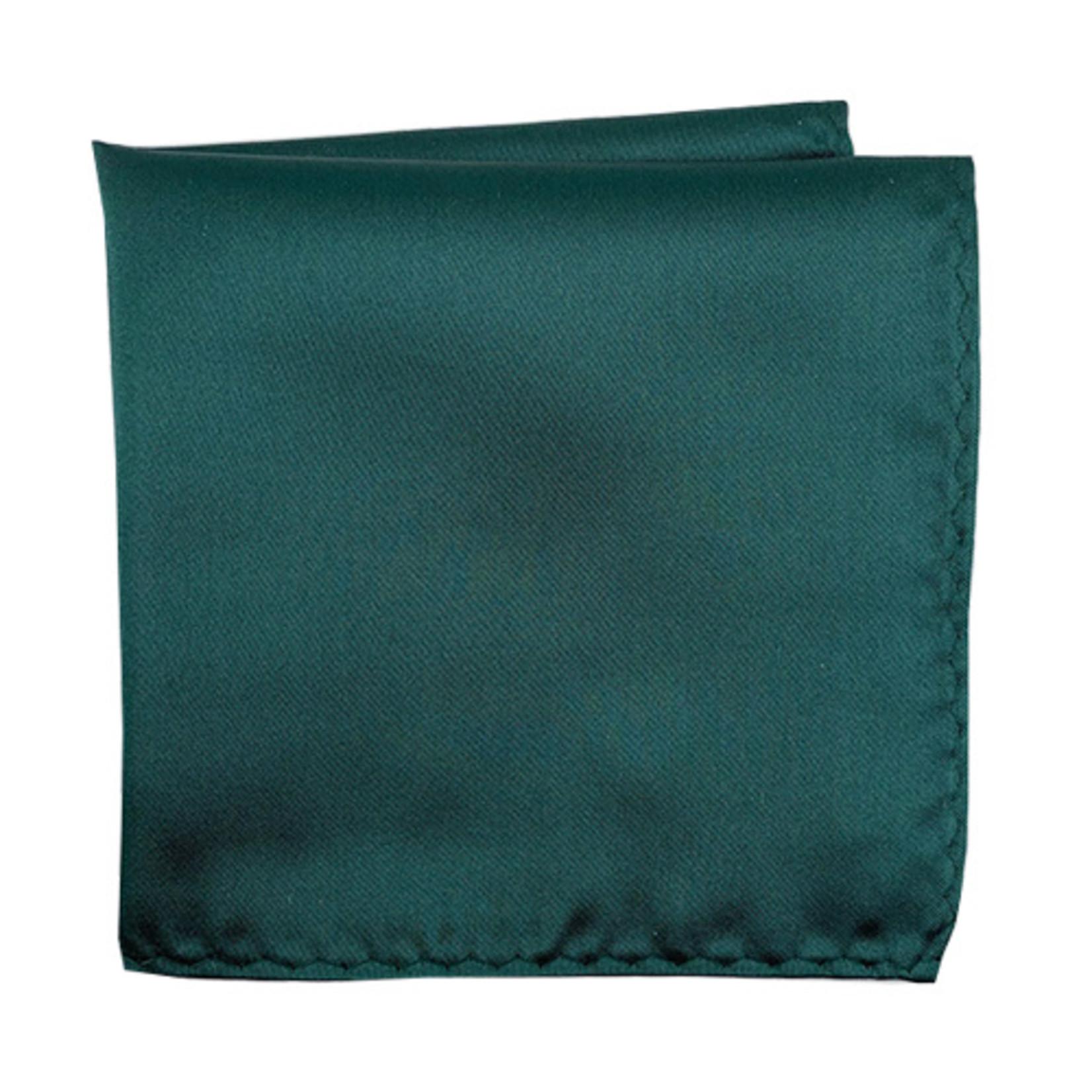 Knotz M100PSQ-45 Solid Dark Emerald Pocket Square