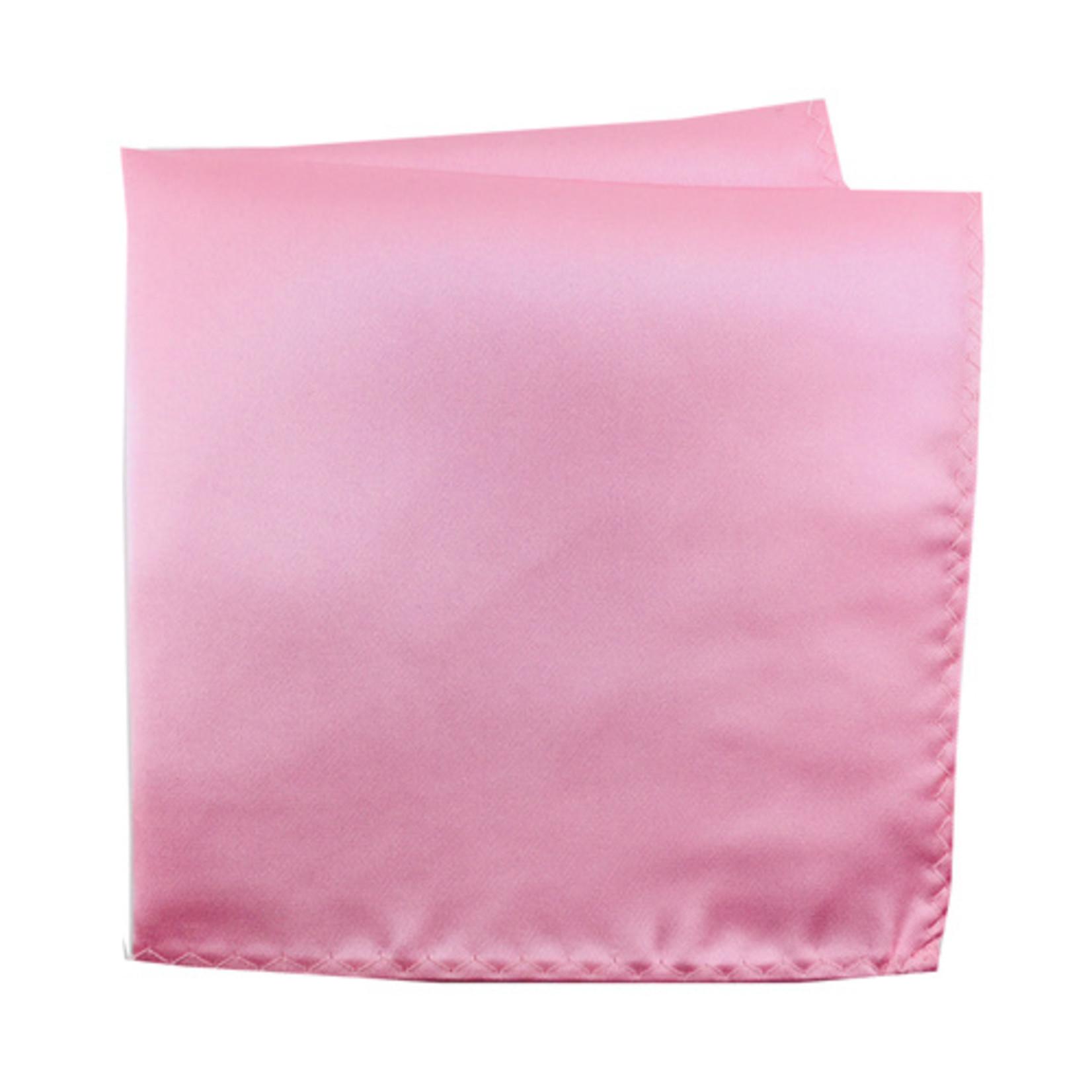 Knotz M100PSQ-42 Solid Light Pink Pocket Square