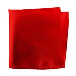Knotz Solid Light Red Pocket Square