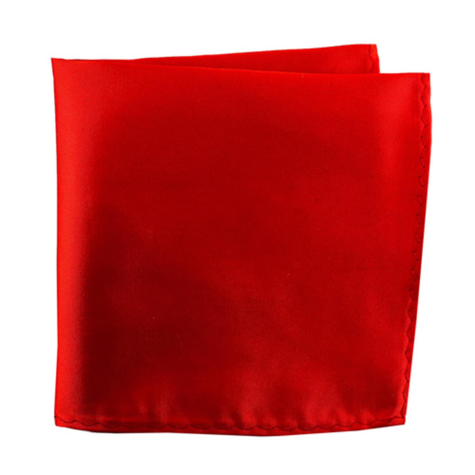 Knotz M100PSQ-37 Solid Light Red Pocket Square