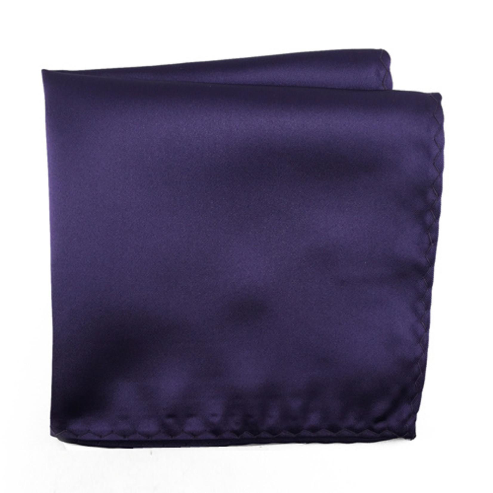 Knotz M100PSQ-35 Solid Purple Pocket Square