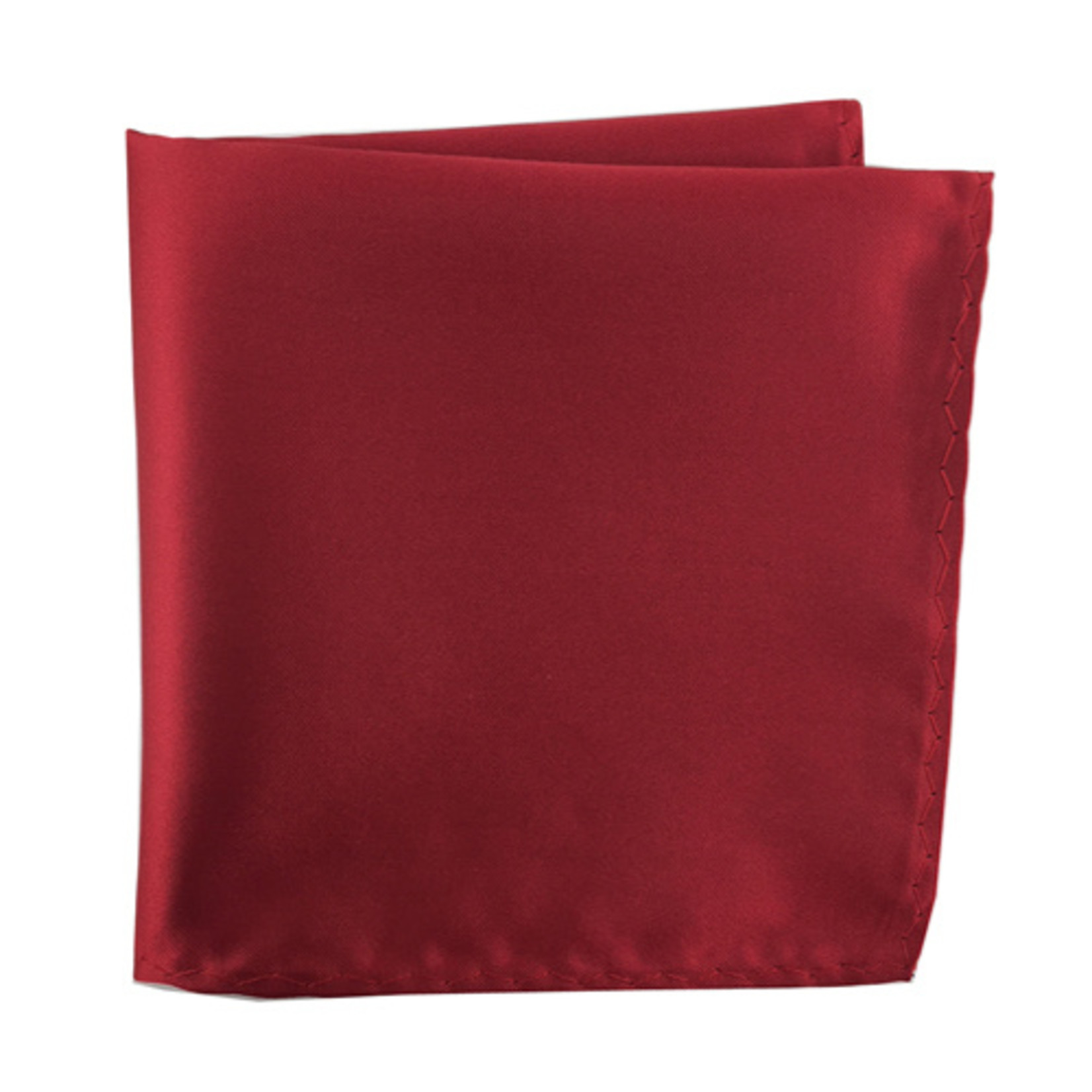 Knotz M100PSQ-31 Solid Red Pocket Square