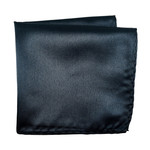 Knotz Solid Charcoal Pocket Square