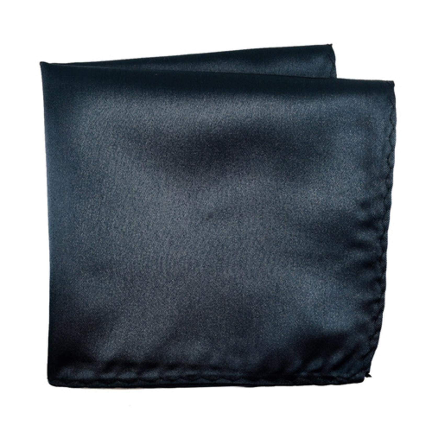 Knotz M100PSQ-29 Solid Charcoal Pocket Square