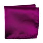 Knotz Solid Magenta Pocket Square