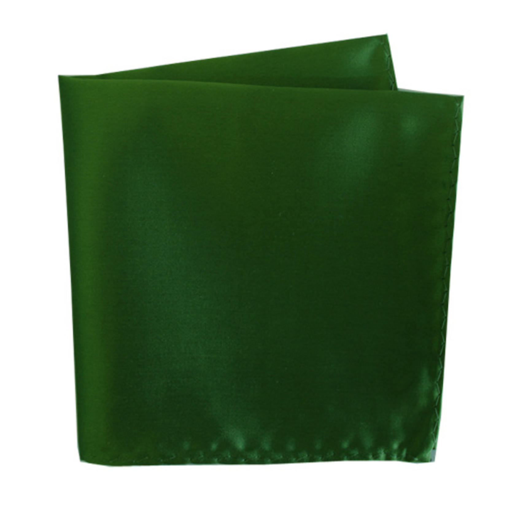 Knotz M100PSQ-25 Solid Green Pocket Square