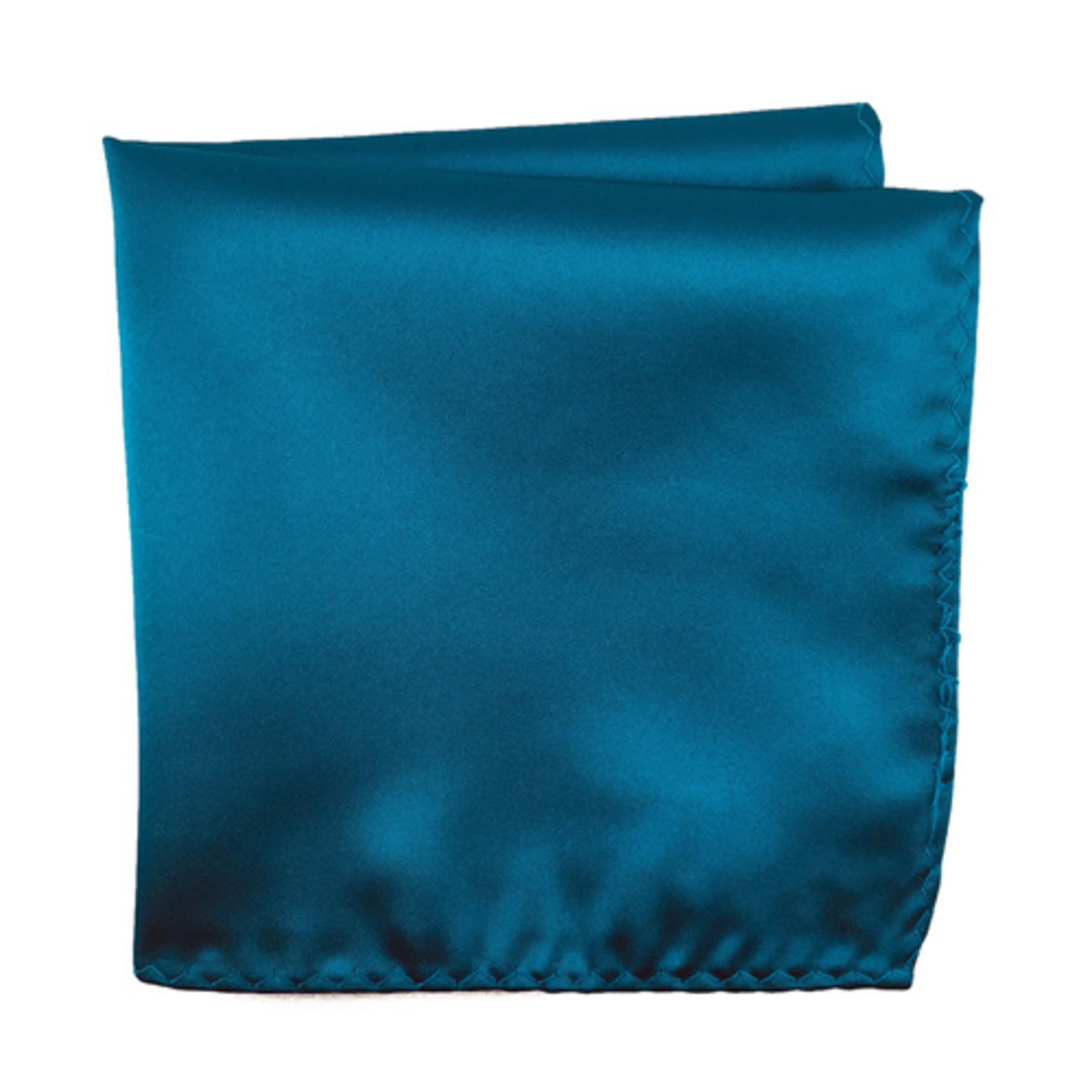 Knotz M100PSQ-22 Solid Teal Pocket Square