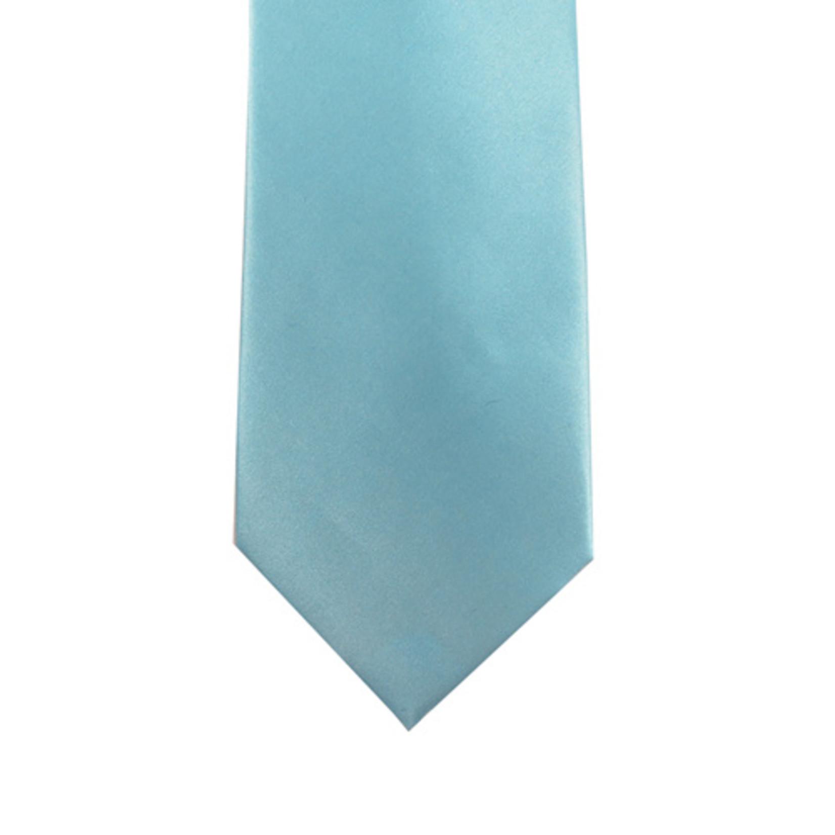Knotz M100-43 Solid Aqua Tie