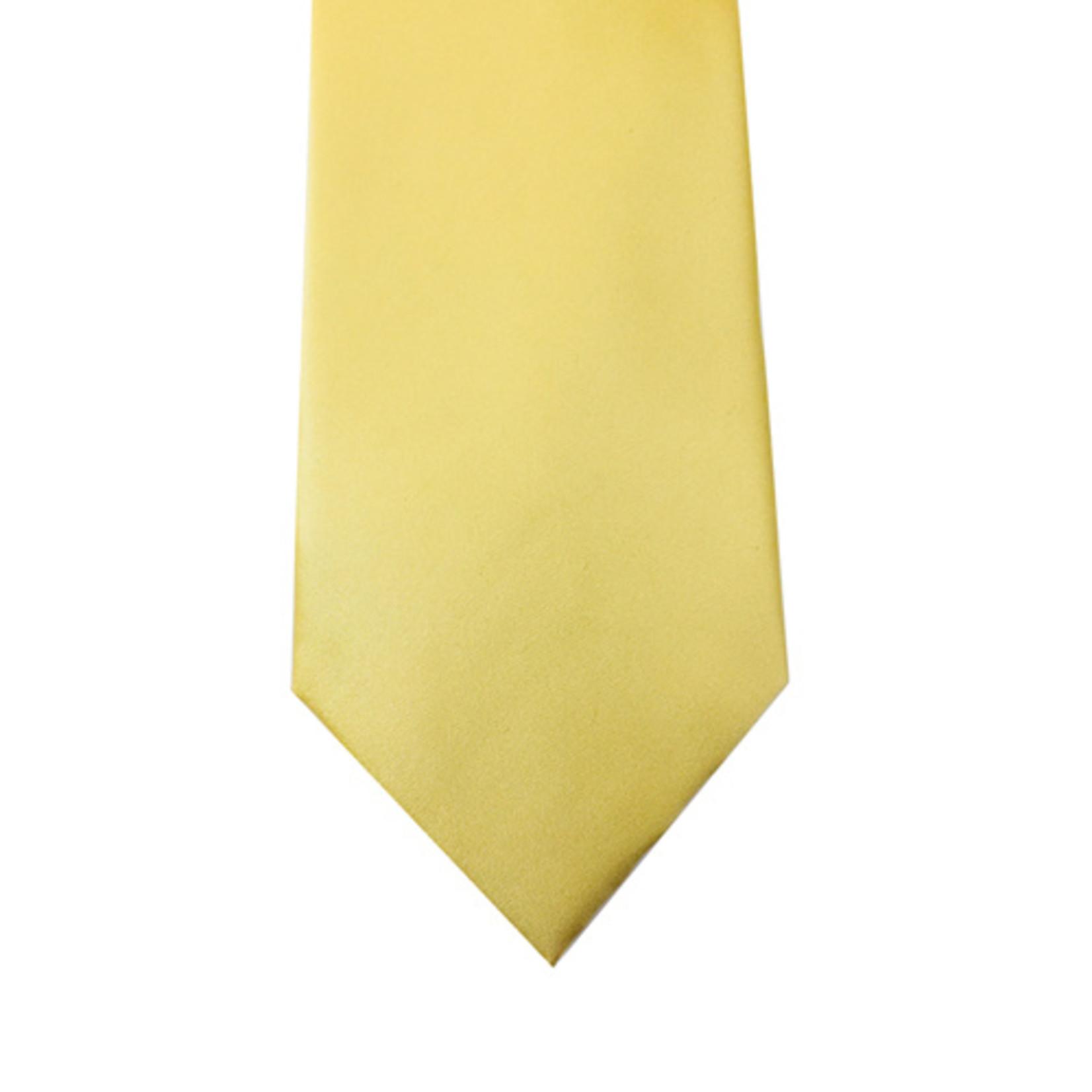 Knotz M100-26 Solid Yellow Tie