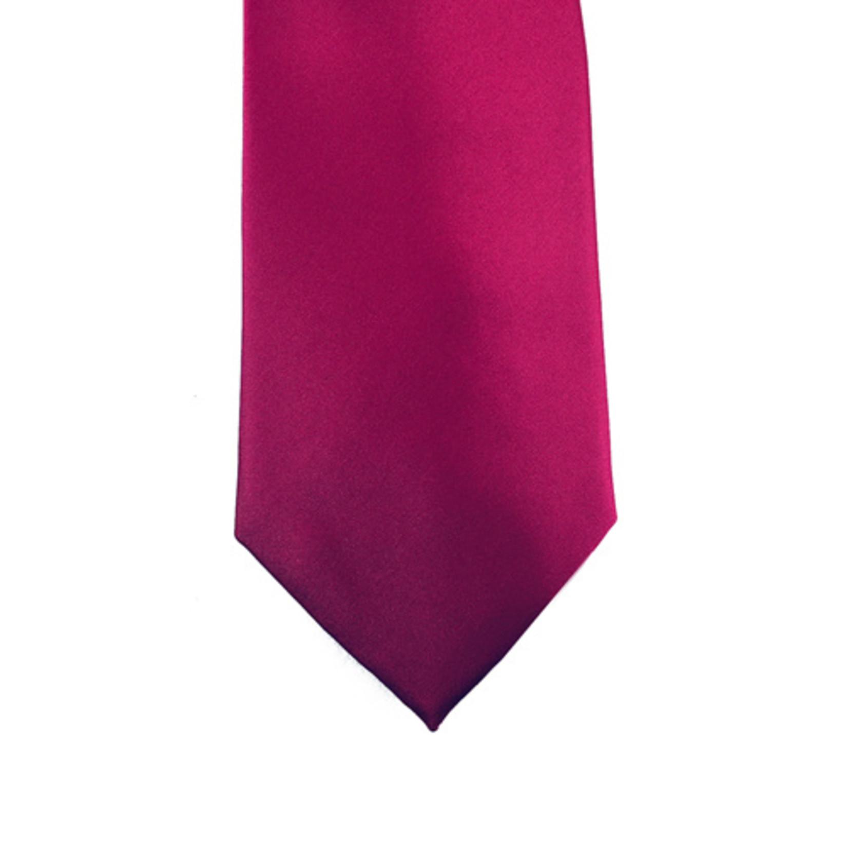 Knotz M100-24 Solid Fuchsia Tie