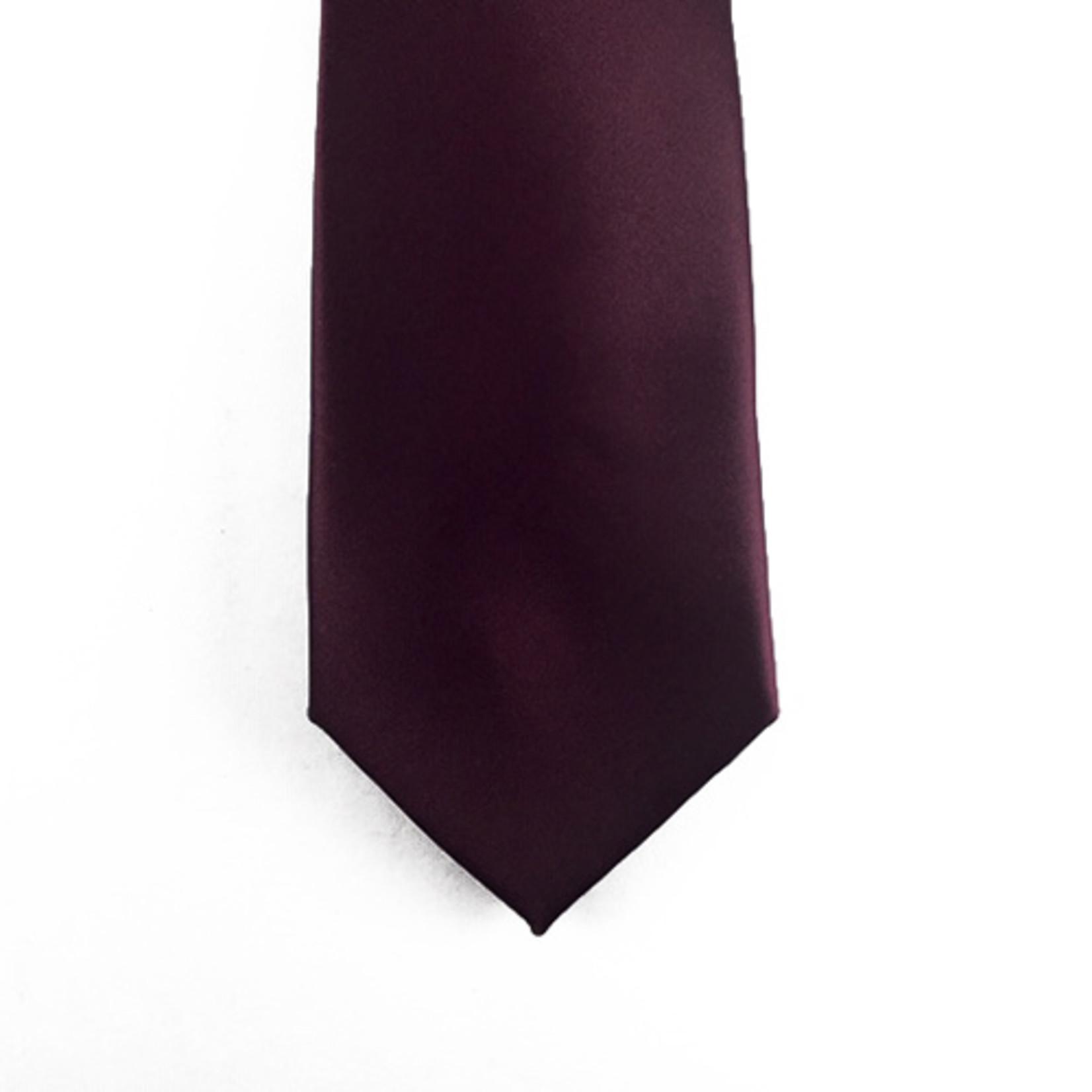 Knotz M100-3 Solid Wine Tie