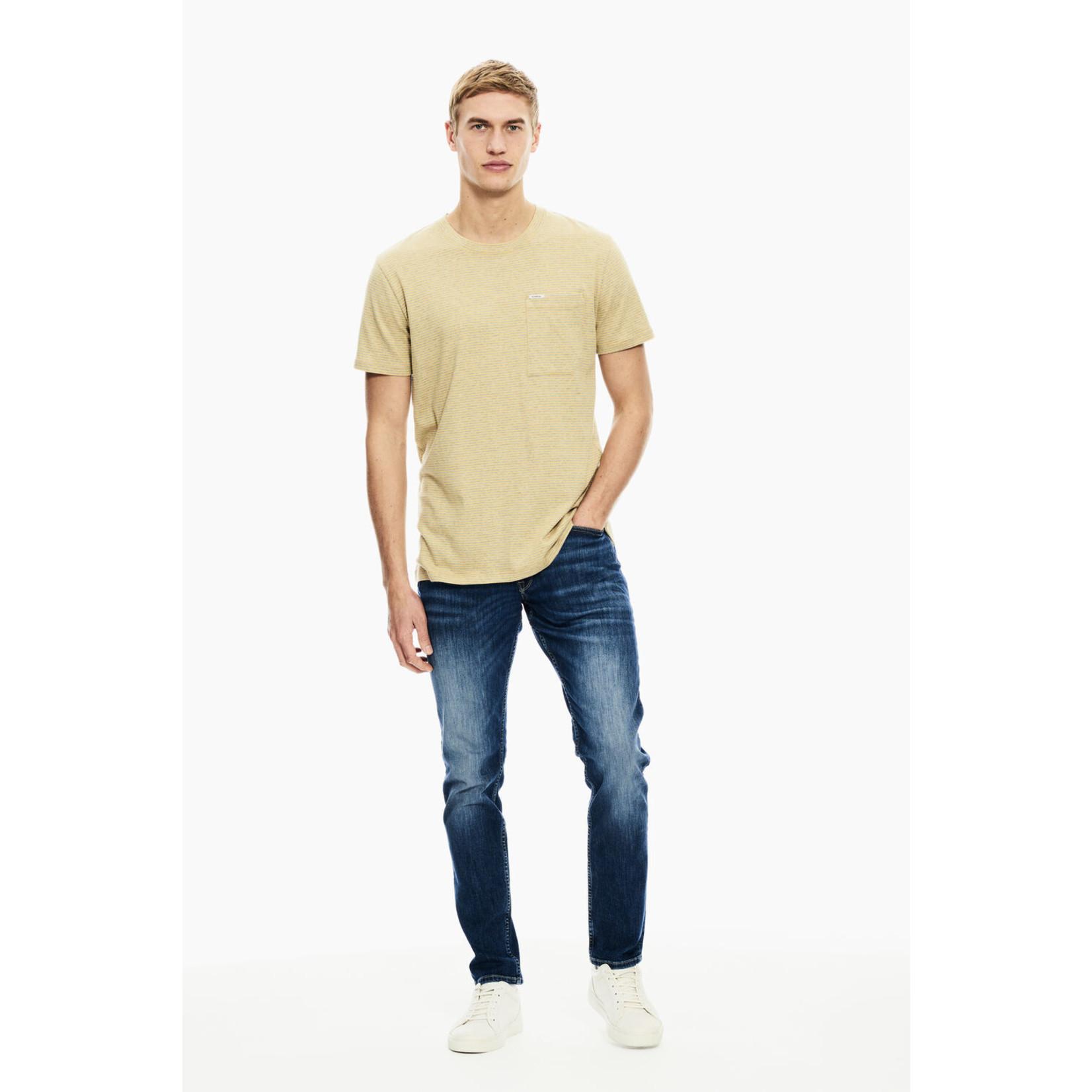 Garcia Garcia C11009 Short-Sleeve Striped T-Shirt