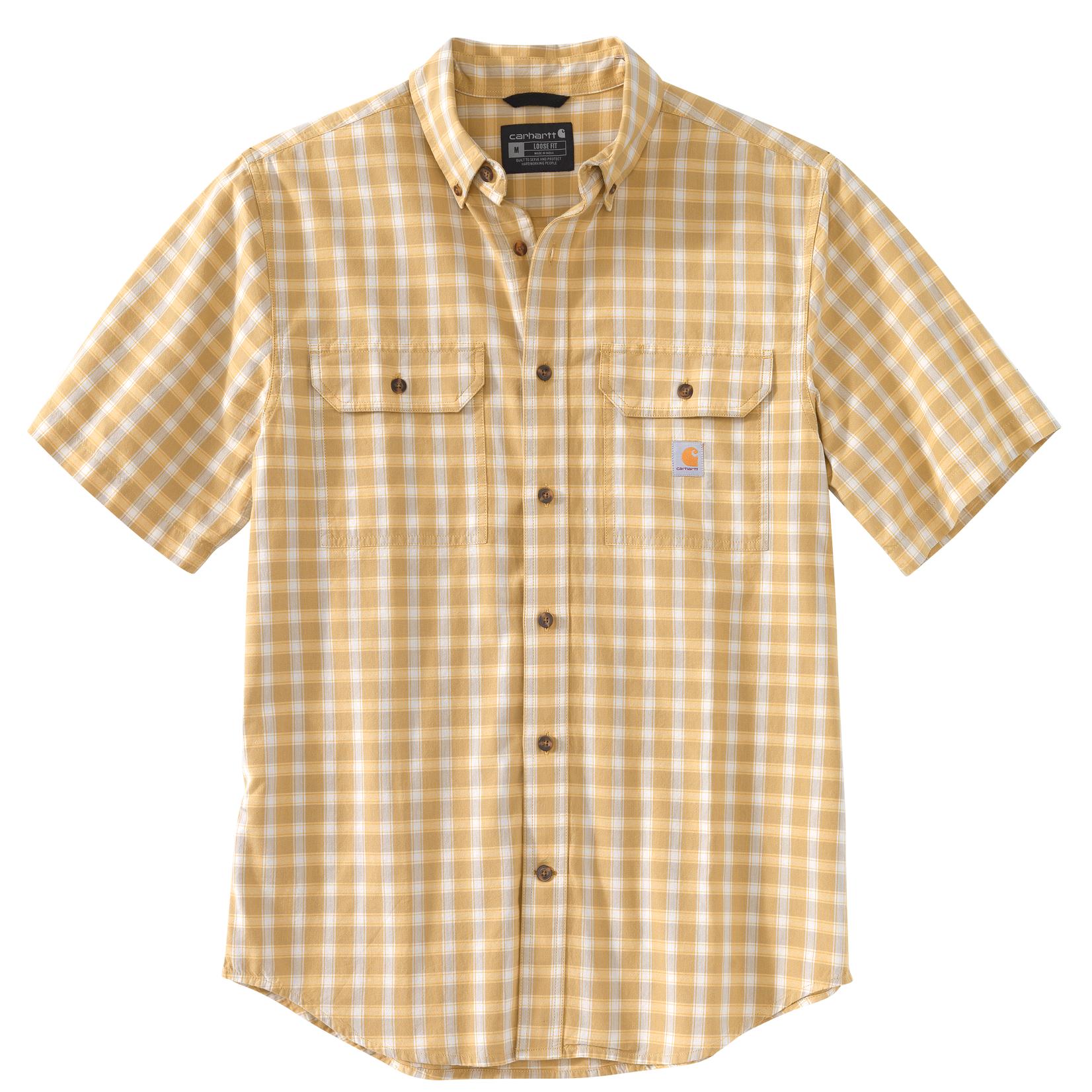 Carhartt Carhartt 104625 Loose Fit Midweight Chambray Short-Sleeve Shirt