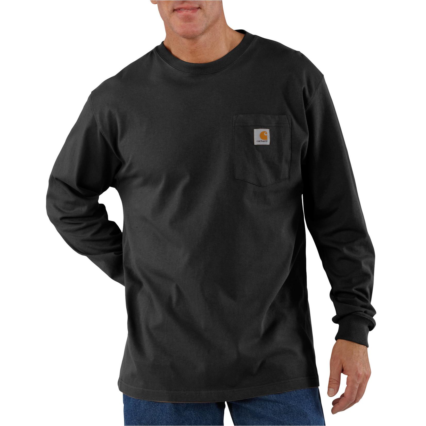 Carhartt Carhartt K126 Workwear Long-Sleeve Shirt with Pocket