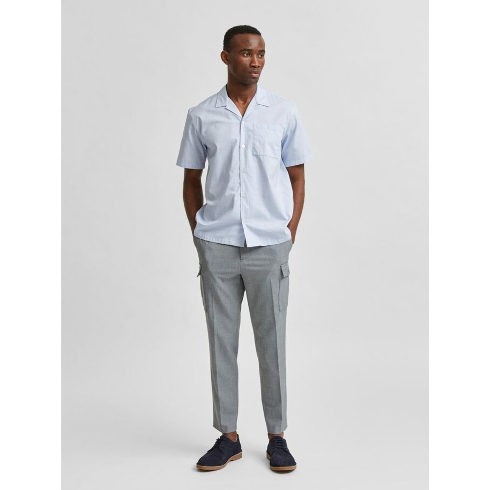 Selected Homme Selected 16078366 Relaxed Wade Short Sleeve Shirt
