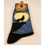 Bigfoot Bigfoot Socks Wolf Howling