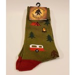 Bigfoot Bigfoot Socks Camping Bigfoot