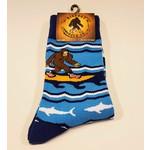 Bigfoot Bigfoot Socks Surfing Bigfoot