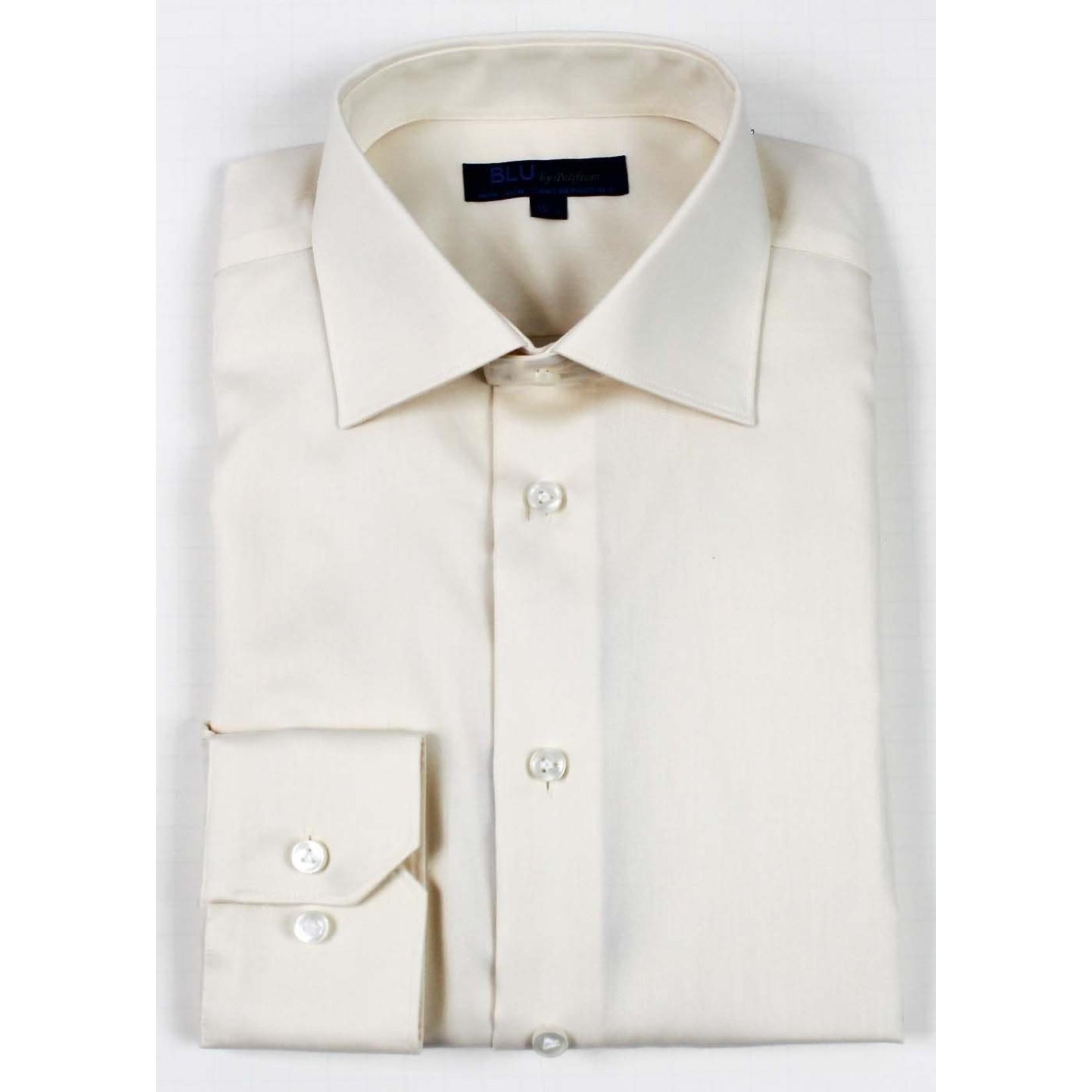 Polifroni Blu-360M Miami Non-Iron Dress Shirt 05 Ecru