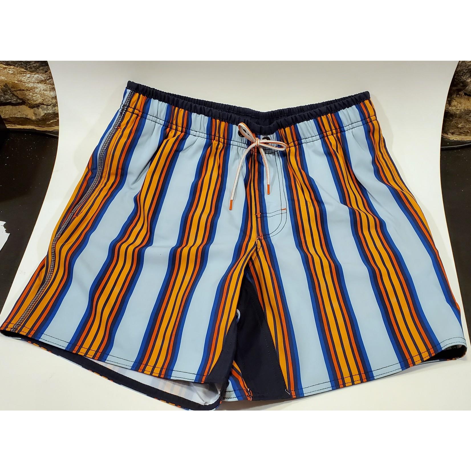 Point Zero 7455348 Elastic Waist Swim Short