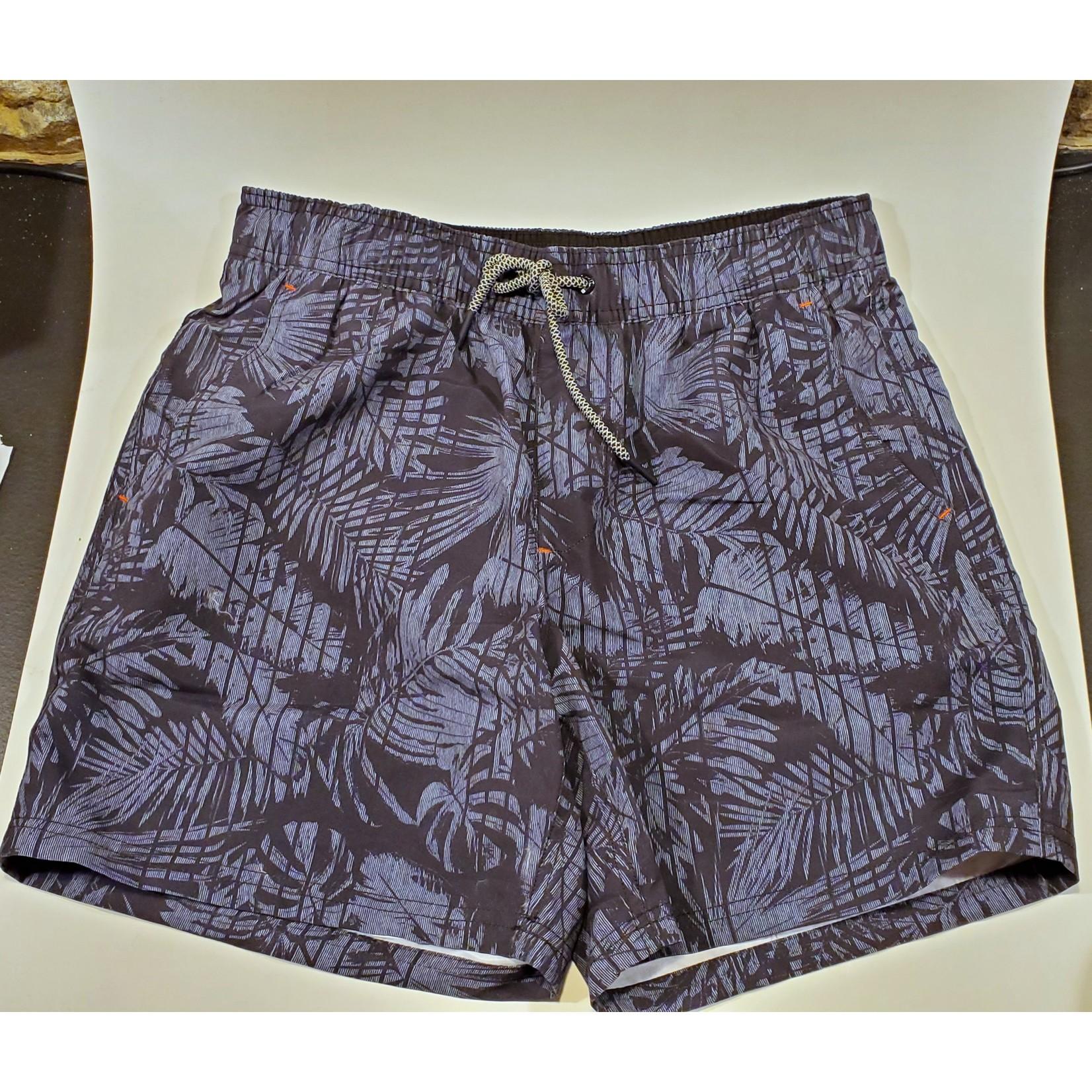 Point Zero 7455358 Elastic Waist Swim Short