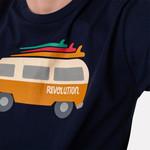 RVLT Revolution RVLT Navy Van T-Shirt