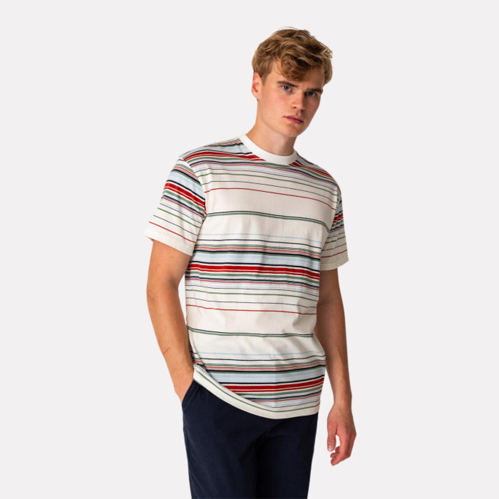 RVLT Revolution RVLT 1225 Off-White Striped T-Shirt