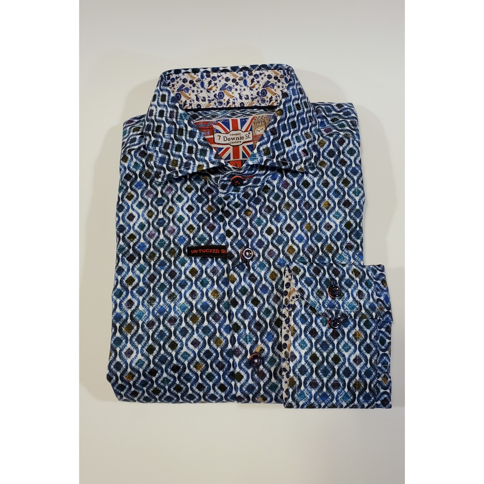 7 Downie St. 7 Downie St Long-Sleeve Spring Sportshirts - Multiple Patterns