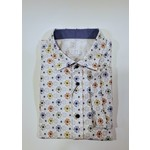 Desoto Desoto Short-Sleeve Printed Spread Collar Jersey Shirt