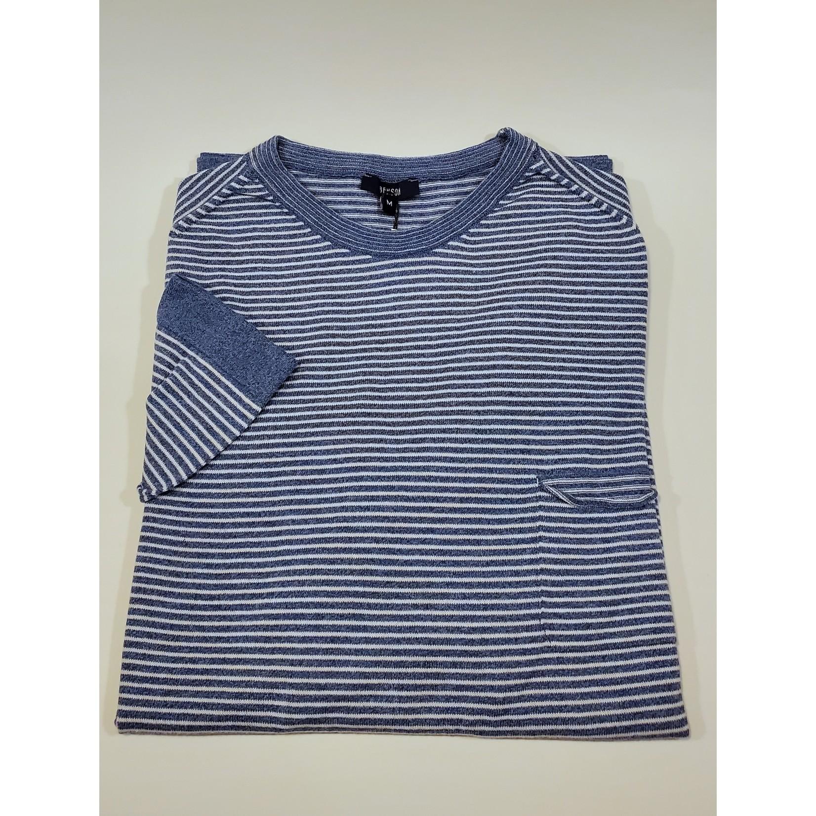 Benson Benson PKS08 Stripe Sweater with Pocket