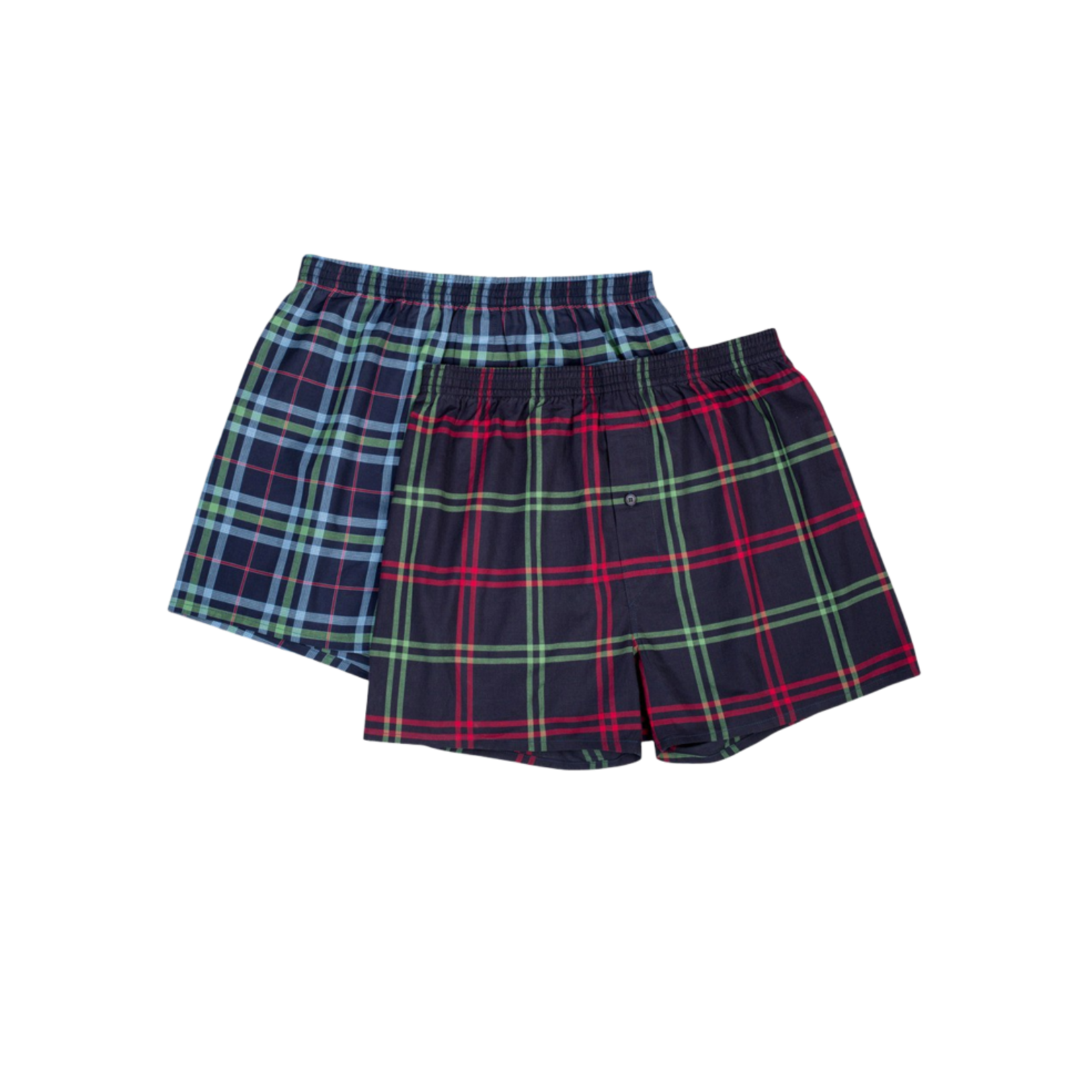 Stanfields Stanfield's 2579 Woven Plaid Boxer - 2 Pack