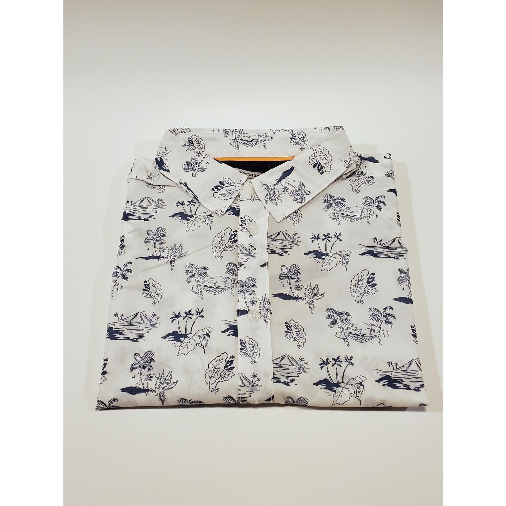 Blend Blend 20712157 Island Print Shirt