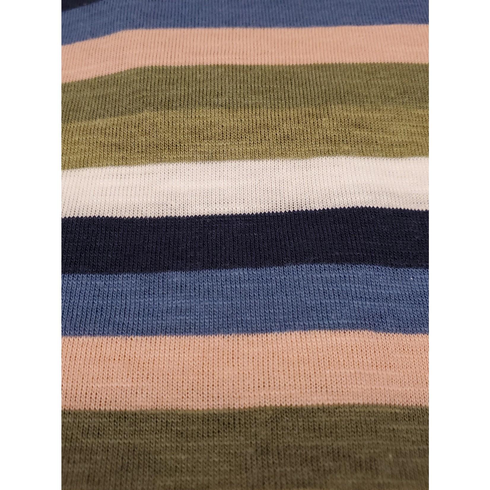Blend Blend 20712081 Multi Striped Tee