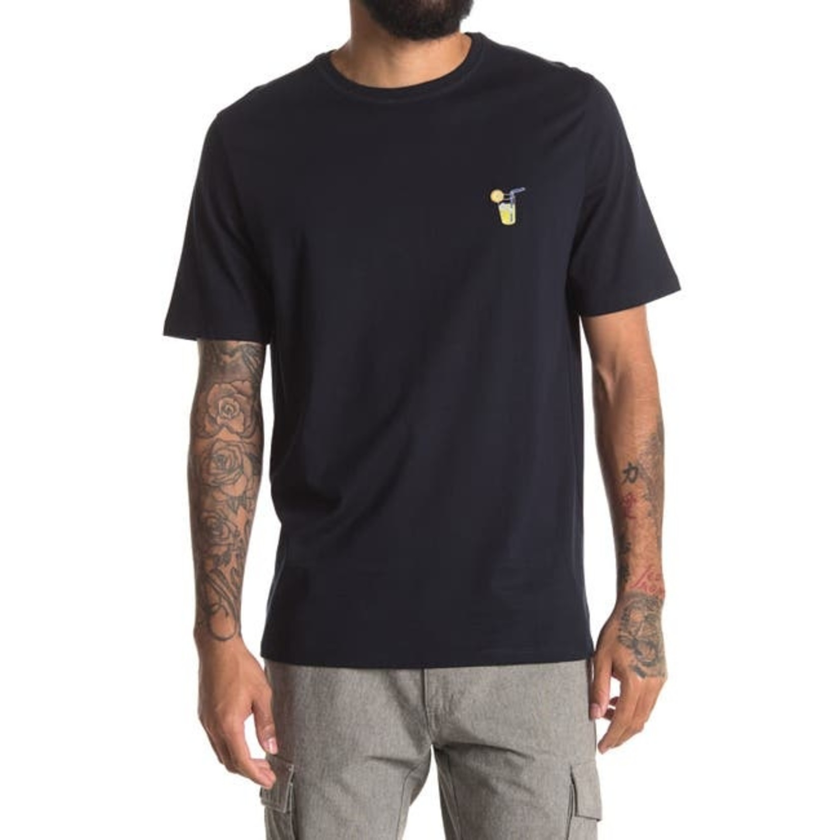 Selected Homme Selected Homme 16073884  Fresno Embroidered Short-Sleeve Tee