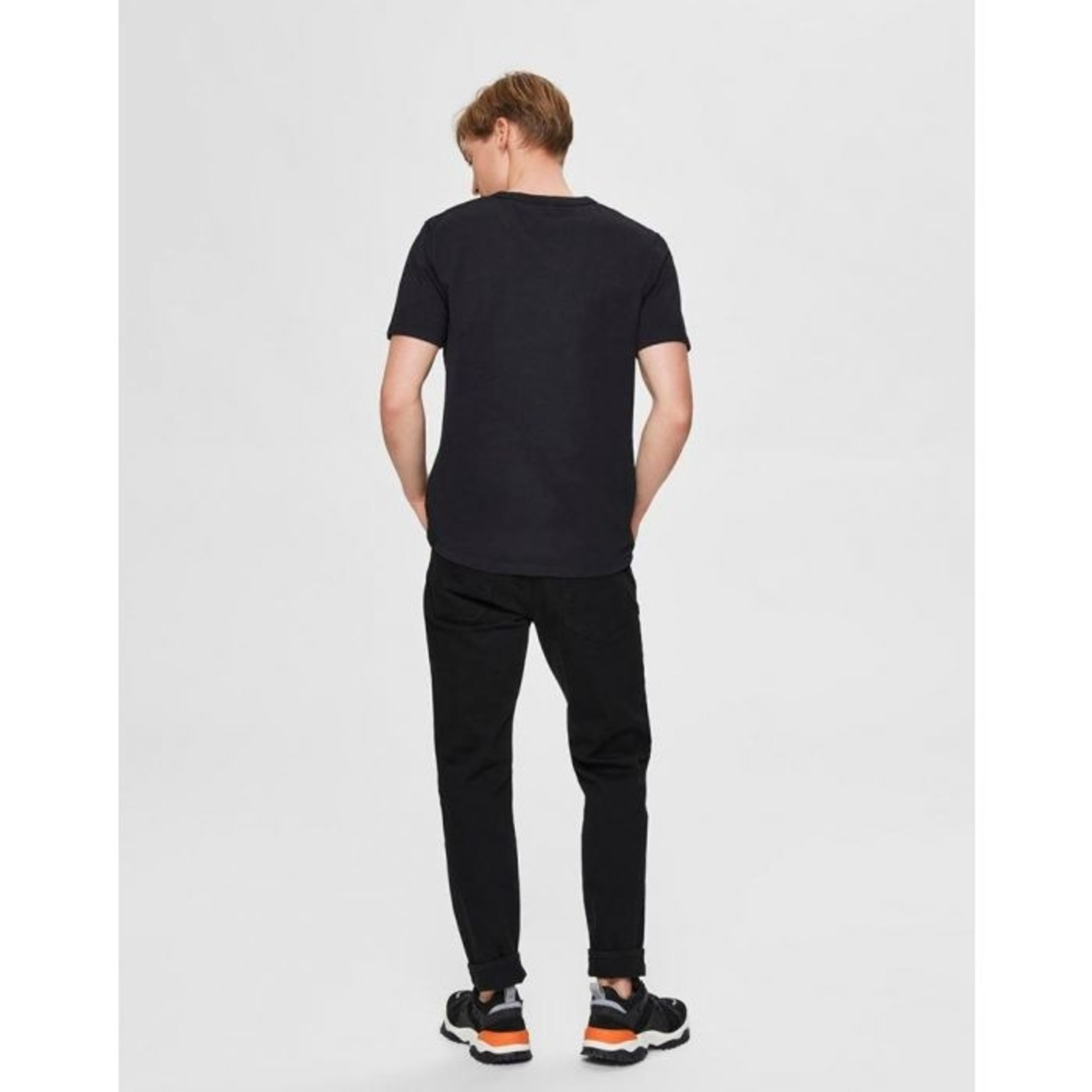 Selected Homme Selected Homme 16074660 Nicki Embroidered Short-Sleeve Tee