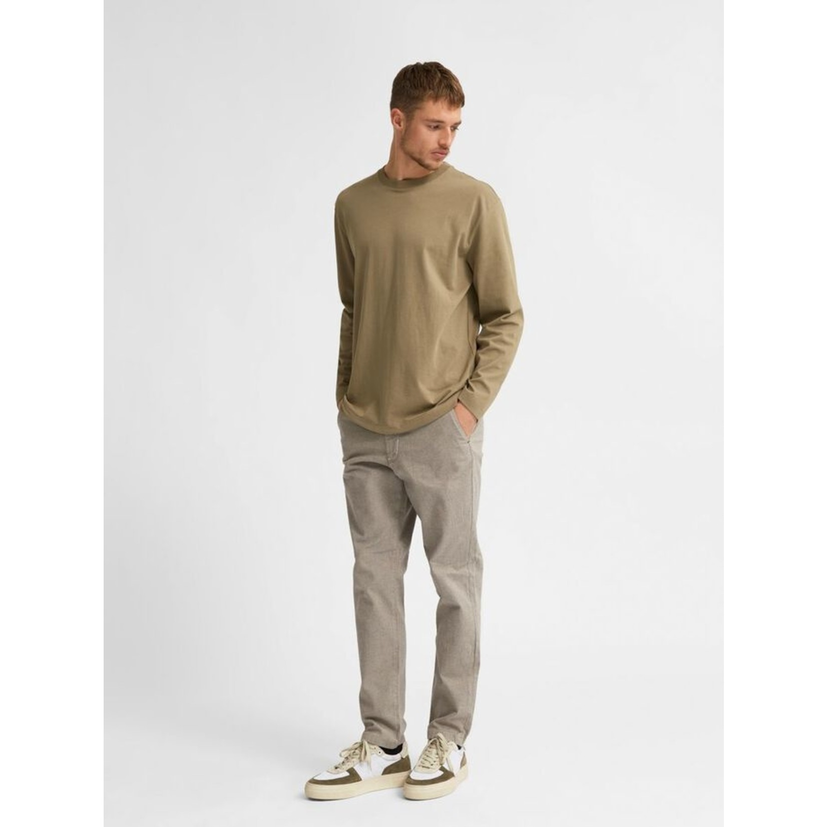 Selected Homme Selected Homme 16078605 Colman Long-Sleeve Tee