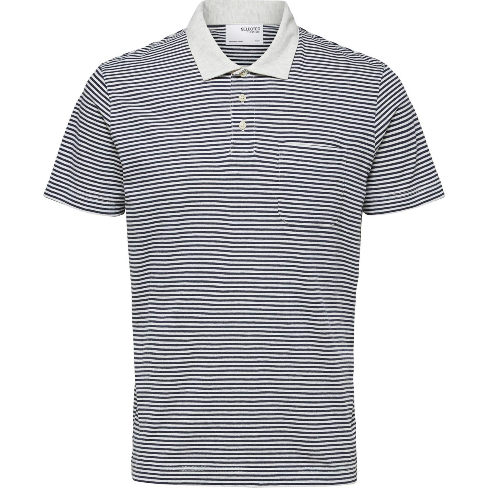 Selected Homme Selected Homme 16078600 Maxwell Short-Sleeve Polo Shirt