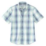 Carhartt Carhartt Relaxed Fit Mid Weight Plaid Shirt