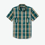 Filson Filson Washed Short Sleeve Feather Cloth Shirt
