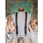 """Lynn Valley Mfg Lynn Valley Dress 1.5"""" Suspender Black"""
