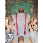 """Lynn Valley Mfg Lynn Valley Dress 1"""" Suspender Burgundy"""