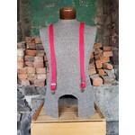 """Lynn Valley Mfg Lynn Valley Dress 1"""" Suspender Red"""