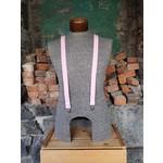 """Lynn Valley Mfg Lynn Valley Dress 1"""" Suspender Pink"""
