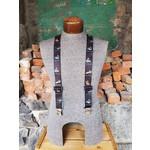 """Lynn Valley Mfg Lynn Valley Novelty 1.5"""" Suspender Black Trout"""