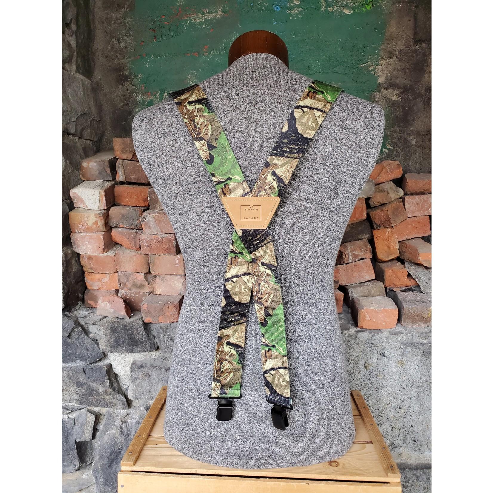 """Lynn Valley Mfg Lynn Valley Heavy Duty 2"""" Clip Suspender SCRt200-5 RealTree"""
