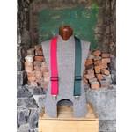 """Lynn Valley Mfg Lynn Valley Heavy Duty Novelty 2"""" Clip Suspender Red/Green"""