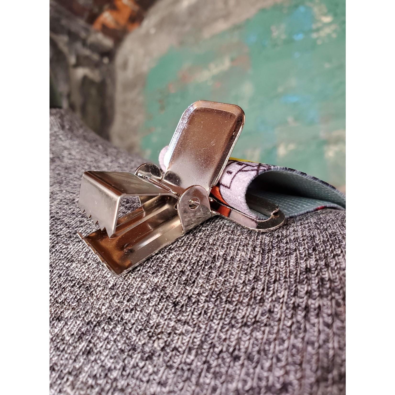 "Lynn Valley Mfg Lynn Valley Heavy Duty Novelty 2"" Clip Suspender SCR200-5EL Grey Electrician"