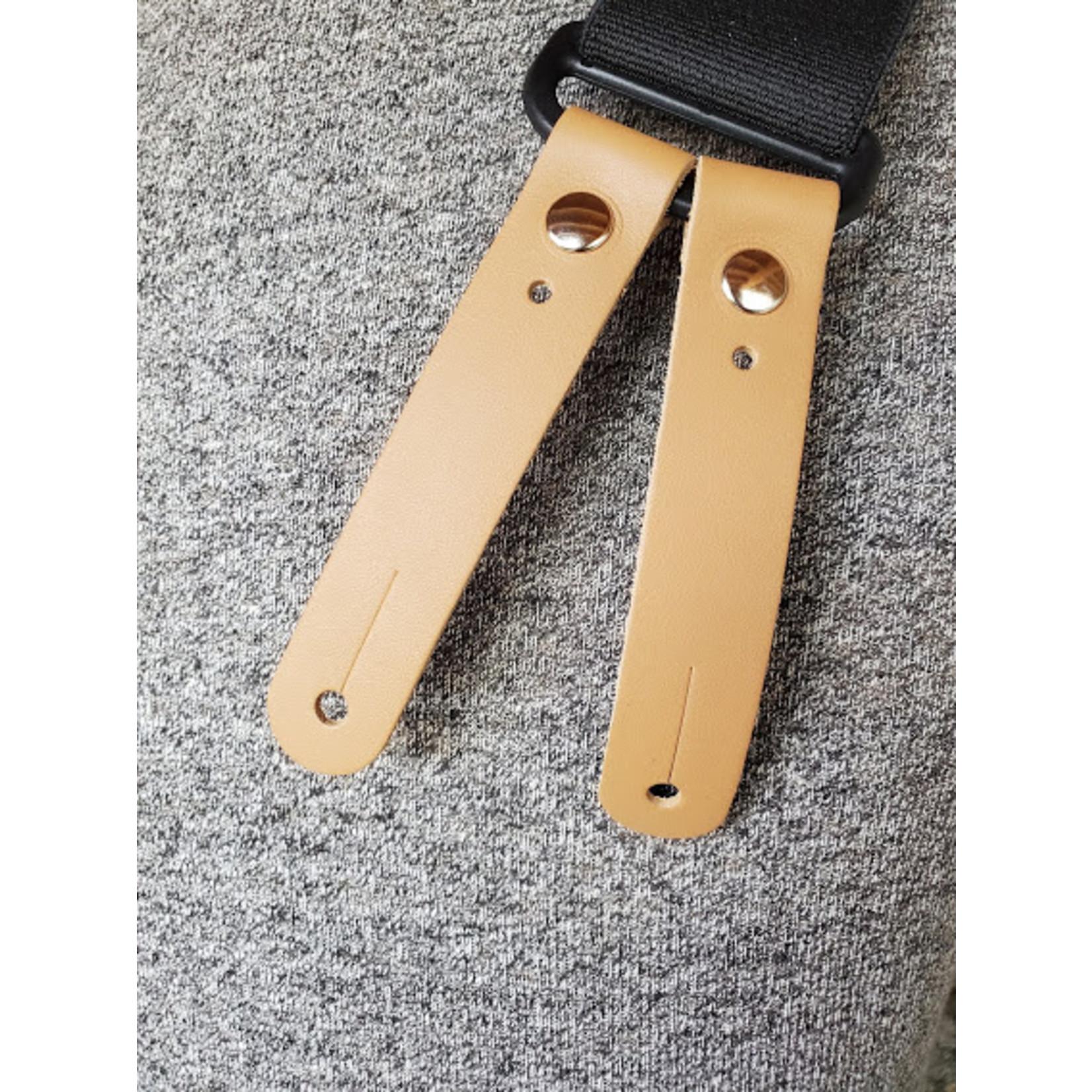 """Lynn Valley Mfg Lynn Valley 2"""" Button-On Suspender SB200-5 Black"""