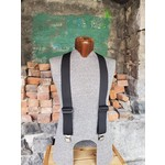 """Lynn Valley Mfg Lynn Valley Heavy Duty 2"""" Clip Suspender Black"""
