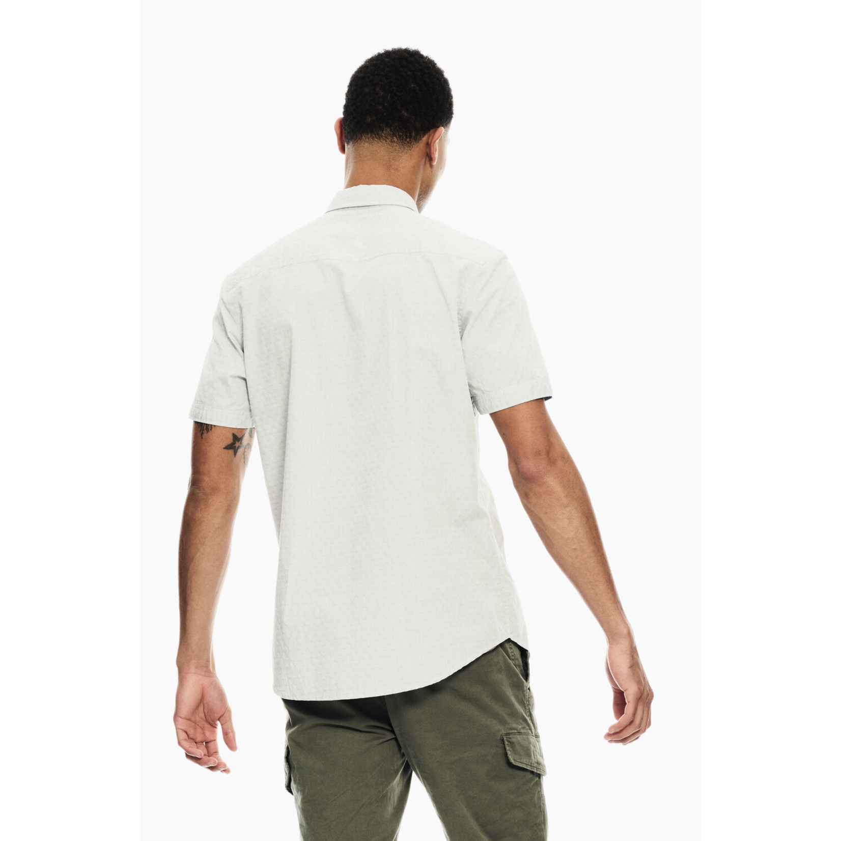 Garcia Garcia C11085 Pocket Short Sleeve Shirt 3942 Deep Army